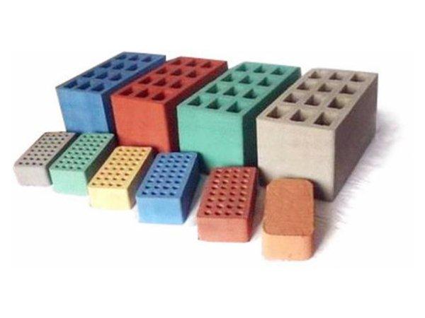 Цветной кирпич: разновидности, способы окрашивания, применение